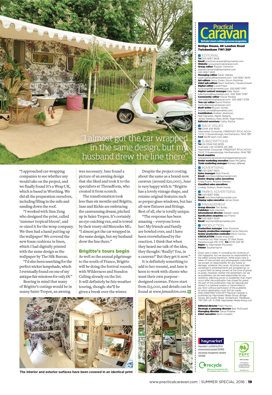 Period Living Magazine Caravan
