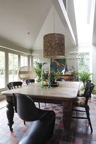 Farmhouse Kitchen Dining Room