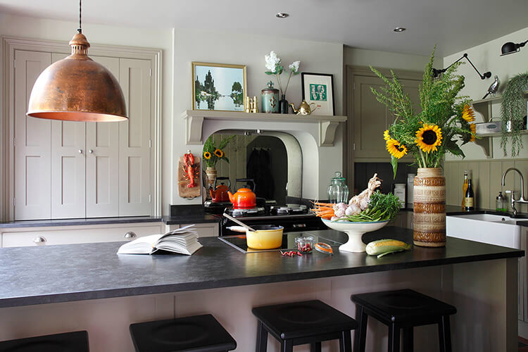 Designer Farmhouse Kitchen