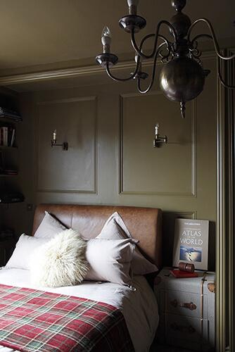 Gentleman's club style Bedroom