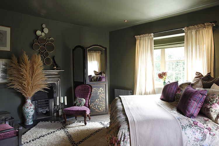 Period Home Bedroom