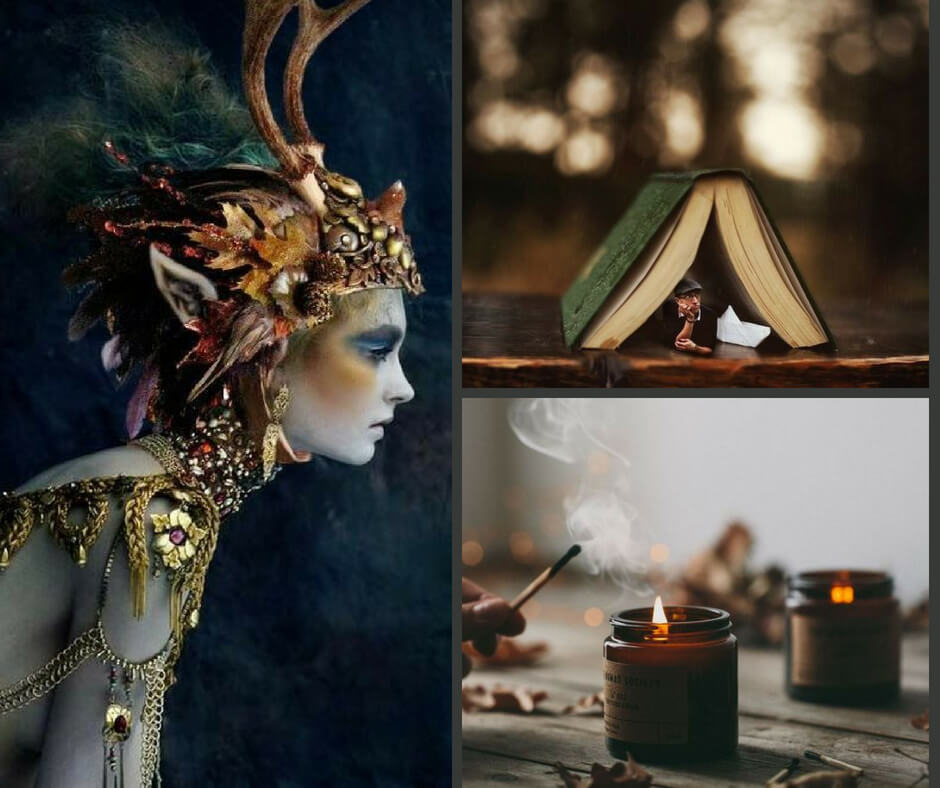 wit & whimsy mood board