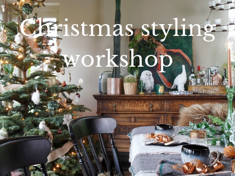 Christmas styling workshop